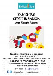 Kamishibai storie in valigia con Fausta Vinco