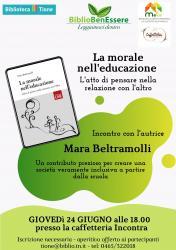 BiblioBenEssere - La morale nell'educazione