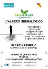 L'albero genealogico Biblioteca Tione di Trento
