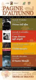 Pagine d'autunno  - Prima dell'alba, Paolo Malaguti  Biblioteca Tione di Trento