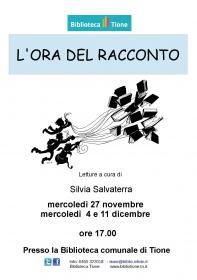 L'ora del racconto con Silvia Salvaterra  Biblioteca Tione di Trento