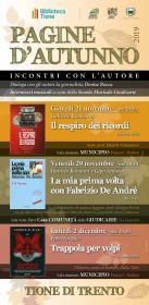 Pagine d'autunno - Trappola per volpi di Fabrizio Silei Biblioteca Tione di Trento