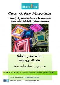 Crea il tuo mandala  Biblioteca Tione di Trento