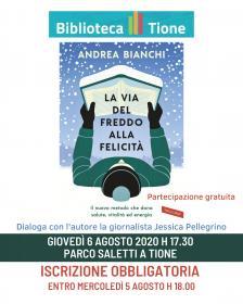 La via del freddo alla felicità presentazione del libro di Andrea Bianchi Biblioteca Tione di Trento