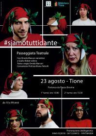Siamo tutti Dante Biblioteca Tione di Trento