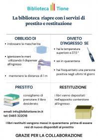 Riapertura biblioteca Biblioteca Tione di Trento