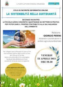 Sostenibilità, ambiente e clima - Azioni concrete e quotidiane  Biblioteca Tione di Trento