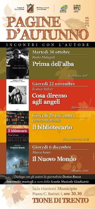Pagine d'autunno  - Cosa diremo agli angeli, Franco Stelzer
