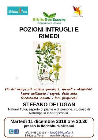 Pozioni, intrugli e rimedi con Stefano Delugan