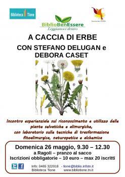 BiblioBenEssere - A caccia di erbe, con Stefano Delugan e Debora Caset