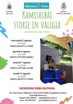 Kamishibai storie in valigia
