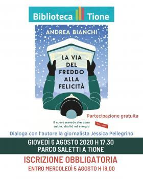 La via del freddo alla felicità presentazione del libro di Andrea Bianchi